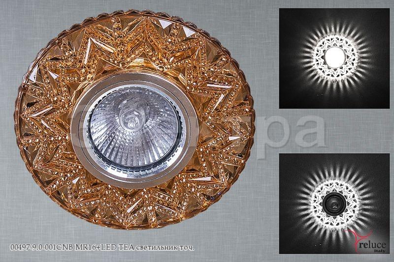 Св-к Электра 00497-9.0-001CNB MR16 + LED TEA