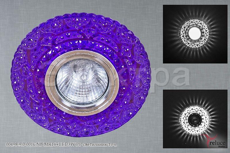 Св-к Электра 00498-9.0-001CNB MR16 + LED PP
