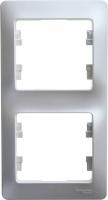 SchE GLOSSA перламутр рамка 2-м. верт.