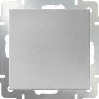 WERKEL Выключатель 1-кл. (серебро рифленый) WL09-SW-1G
