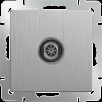 WERKEL ТВ розетка оконечная (серебро рифленый) WL09-TV