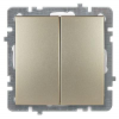 Nilson Touran золото мех-зм выкл. 2-кл. 10А