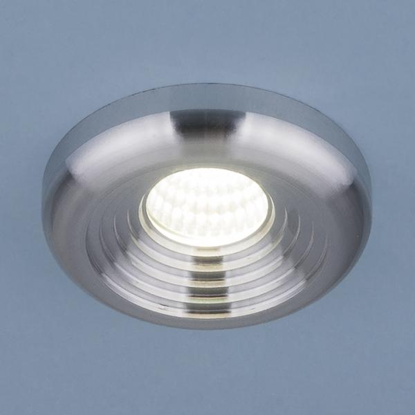 Св-к Электростандард LED 9903 3W серебро MR11