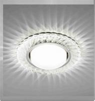 Св-к De Fran GX53 FT9155 CHWH метал+зерк.прозрачный(23924,28136,27553)
