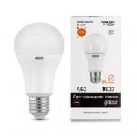 Лампа светодиодная Gauss E27 12Вт A60 Elementary 2700К 1130Лм
