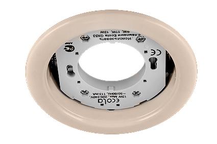Светильник Ecola GX53 Н4 жемчуг