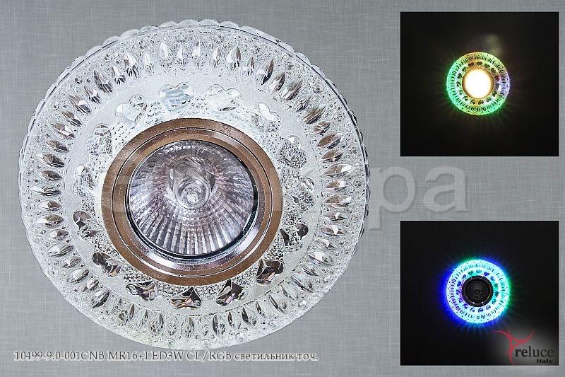 Св-к Электра 10499-9.0-001CNB MR16 + LED CL+RGB