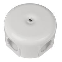 BIRONI белый керамика выкл. распр. коробка 78мм