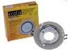 Светильник Ecola GX53 H4 стекло круг с вогнутыми гранями хром серебряный блеск