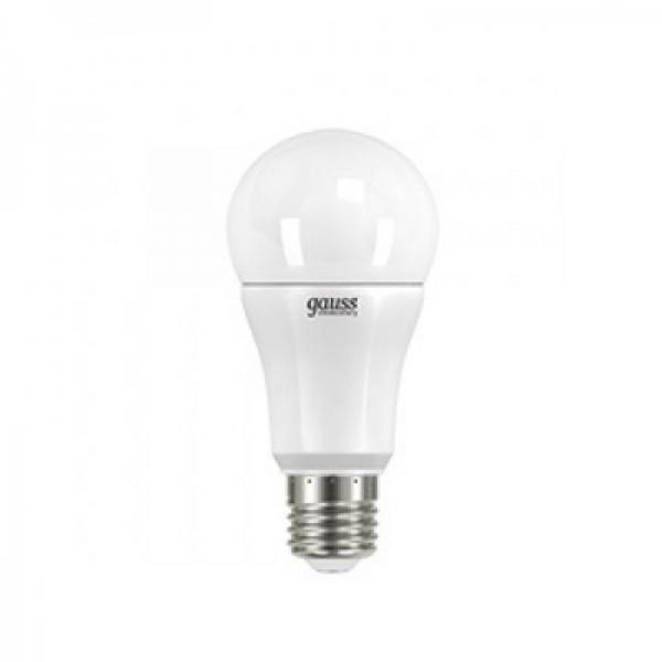 Лампа светодиодная Gauss E27 15Вт A60 Elementary 4000К