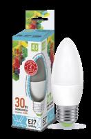Лампа светодиодная ASD E27  3.5Вт свеча standard 3000К 320Лм