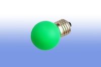 Лампа светодиодная E27  1Вт Шар LDS mini Comtech зеленый