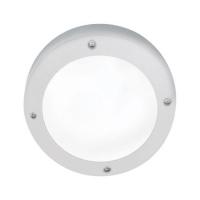 Св-к Ecola B4139S матов.круг белый алюм.145х145х65 IP65 Распродажа!!!