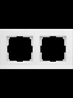 WERKEL STARK Рамка на 2 поста (белый)