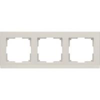 WERKEL STARK Рамка на 3 поста (слоновая кость) WL04-Frame-03