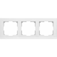 WERKEL STARK Рамка на 3 поста (белый) WL04-Frame-03