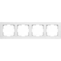 WERKEL STARK Рамка на 4 поста (белый) WL04-Frame-04