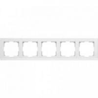 WERKEL STARK Рамка на 5 постов (белый) WL04-Frame-05