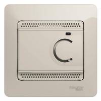 Термостат тепл. пола GLOSSA с датч. перл.