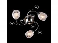 Люстра Евросвет Цветная классика - 9677/3 хром