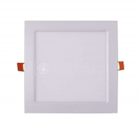 Св-к LED 18Вт квадрат JazzWay PPL-S 4000K 600lm белый IP40 220мм
