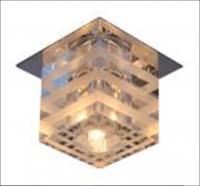Св-к Люмис 1372 JC G4 S/CL+WH хром прозрачный/белый