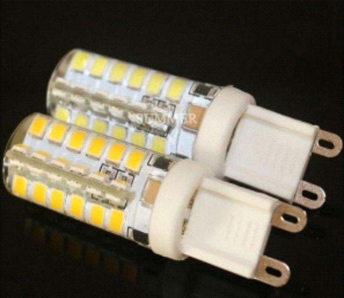 Лампа светодиодная G9 5Вт 48LED 2835 в силиконе 6500К
