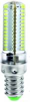 Лампа светодиодная Е14 7Вт 220V 104LED 3014 в силиконе 6400К