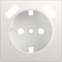 WERKEL Накладка для USB розетки (перламутр рифленый)