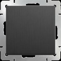 WERKEL Выключатель 1-кл. проходной (графит рифленый) WL04-SW-1G-2W