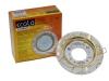 Светильник Ecola GX53 H4 стекло круг золото на белом