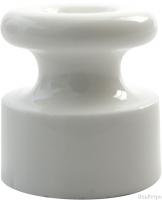 Изолятор BIRONI бел. фарфор h=18мм