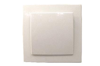 Nilson Touran белый выкл. 1-кл. 10А