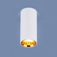Св-к электростандарт DLR030 12W 4200K белый матовый/золото