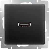 WERKEL Розетка HDMI (черный)