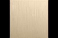 WERKEL Клавиша для перекр. выключателя (шампань рифленый) WL10-SW-1G-C-CP