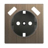 WERKEL Накладка для USB розетки (бронза) WL12-USB-CP