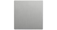 WERKEL Клавиша для перекр. выключателя (серебро рифленый) WL09-SW-1G-C-CP