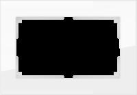 WERKEL FAVORIT Рамка для двойной розетки (белый)