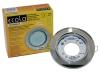 Светильник Ecola GX53 H4 стекло круг хром зеркальный