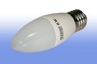 Лампа светодиодная General E27 8Вт свеча 2700К 680Лм