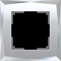 WERKEL DIAMANT Рамка на 1 пост (зеркало, стекло) WL08-Frame-01