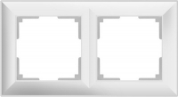 WERKEL FIORE Рамка на 2 поста (белая) WL14-Frame-02