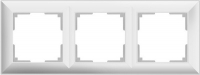 WERKEL FIORE Рамка на 3 поста (белая) WL14-Frame-03