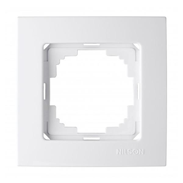 Nilson Touran белый рамка 1-м.