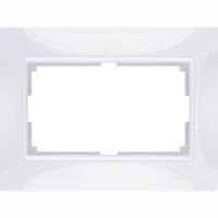 WERKEL Snabb Basic Рамка для двойной розетки (белый) WL03-Frame-01-DBL
