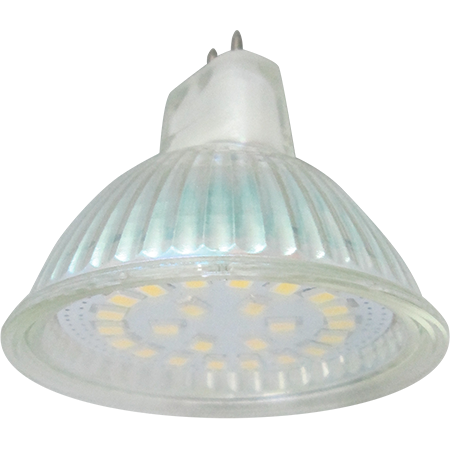 Лампа светодиодная MR16 220V 5Вт Ecola 2800 прозрач. Распродажа!