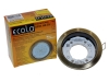 Светильник Ecola GX53 H4-GL глубокий черненая бронза