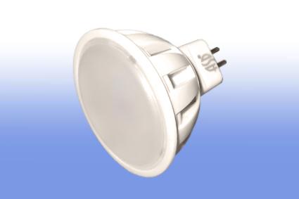 Лампа светодиодная MR16 220V 3Вт ASD 3000K 250Lm Распродажа!