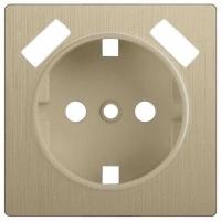 WERKEL Накладка для розетки USB (шампань рифленый) WL10-USB-CP